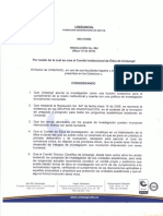 Anexo 4. Comité de Ética Resolución 064-2014