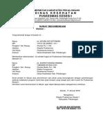Surat Rekomendasi Ijin