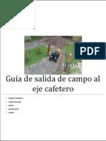 Guía de Salida de Campo Eje Cafetero