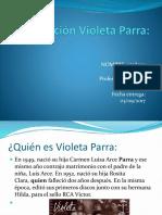 Disertación Violeta Parra