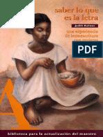 Kalman, J. Saber lo que es la letra.pdf