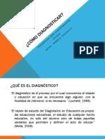 Cómo Diagnosticar