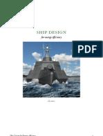 SHIP DESIGN  for energy efficiency