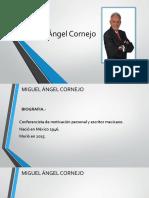 Miguel Angel Cornejo Presenttacion
