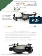 Drone Visuo Especificacoes e Apresentacao