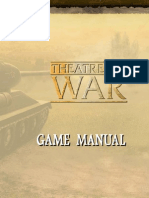 Theatre of War Game Manual