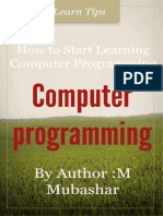 How to design a computer program tips by M Mubashar.epub