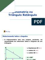 1 ANO - Trigonometria no Triângulo Retângulo - 2008.ppt