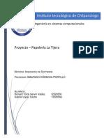 Proyect Papeleria Avance M
