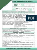 Plan 3er Grado - Bloque 1 Espa§ol .doc