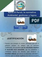 Marco Normativo de La Bahía el Ferrol de Chimbote