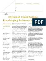 50 years of United Nations Peacekeeping Assistance in the DRC