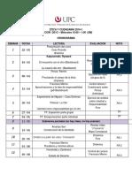 Cronograma - DS1C - SM - 10-1 - B505