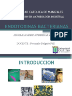 ENDOTOXINAS BACTERIANAS