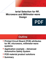 PCB Material Selection for RF Microwave and Millimeter Wave Designs 1