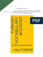 Turkish Homonyms