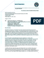 Letter to PA DEP from Plainfield Twp re