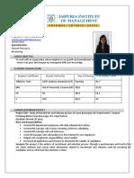 Ayushi Resume