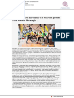 "Torna ""Pesaro Fitness"" - Donna fitness.it, 5 settembre 2018"