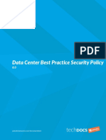 PA Best Practices Data Center