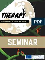 Programmheft- Fachseminar - Art Therapy - EU Erasmus + Project- An european path of social inclusion - ÜberBrücken 2018