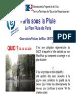 Mairie de Paris Stea Le Plan Pluie de Paris
