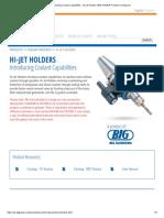 Hi-Jet Holders
