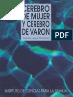Cerebro de Mujer y Cerebro de Varon - Lopez Moratalla