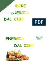 energia dal cibo