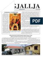 """Gazeta """"Ngjallja"""" Qershor 2008"""