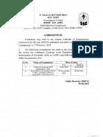 Corrigendum Revised Date of Publication of Notice of Exam 20042018