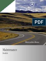 MY10 Maintenance Booklet