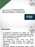 Lutfi Milenia Ramadan - 2b-EXERCISE-METHOD OF PARAGRAPH DEVELOPMENT.pdf