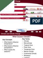 C4 ClimateAndClimateChange