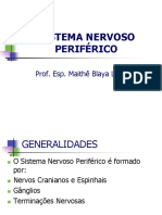 Sistema Nervoso Periférico e Sistema Nervoso Autônomo