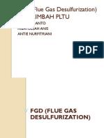 Fgd (Flue Gas Desulfurization) Dan Limbah