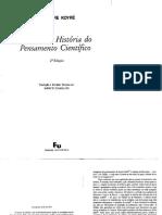 Koyre, A. Galileu e Platao Estudos de Historia Do Pensamento Cientifico