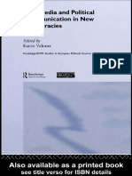 (Routledge_ECPR Studies in European Political Science) Katrin Voltmer-Mass Media and Political Communication in New Democracies -Routledge (2006).pdf