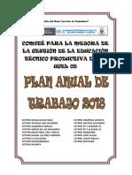 Plan de Trabajo Comite de Cetpro 2018