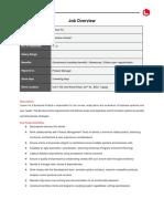 Leisue Inc - Job Description - Business Analyst.docx