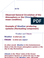 Weather Climate General Circulation