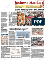 Business Standard 18th Aug