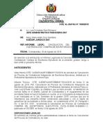 Informe Legal Cancelación de Proceso de Contratación -Escritorios Ejecutivos