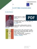 Juan Rulfo. Bibliografia