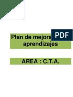 Plan de Mejora AREA CTA