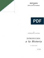 Marc Bloch - Introducción a La Historia