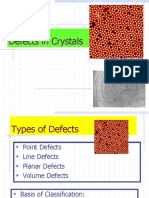4 Defects in Crystalline Materials