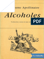 Alcoholes - Guillaume Apollinaire