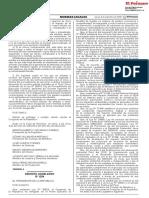 Decreto Legislativo que fortalece el funcionamiento de las autoridades competentes en el marco del Sistema Nacional de Evaluación del Impacto Ambiental