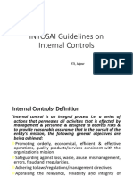 INTOSAI Guidelines on Int. Controls[1]